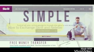 image of How to Exchange Skrill or Neteller to Perfect money, Bitcoin, Western union, Moneygram, RIA money