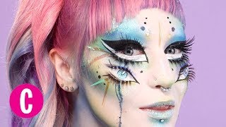 Watch This Woman Transform Herself Into a Literal Fairy | Cosmopolitan