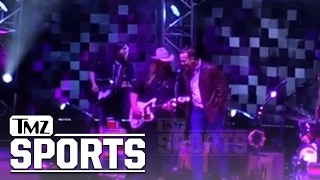Petyon Manning Sings 'Tennessee Whiskey' With Country Music Star Chris Stapleton | TMZ Sports Video
