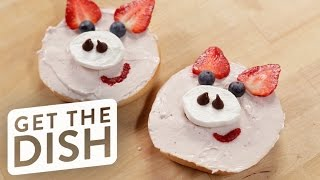 Pigs in a Bagel | Get the Dish by POPSUGAR Food