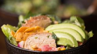 Rainbow Grilled Chicken Salad by Tasty