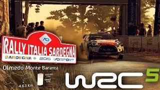 Olmedo Italy  city pictures gallery : WRC 5 Game-Play - Italy Sardegna (Olmedo Monte Baranta) [HD 1080]