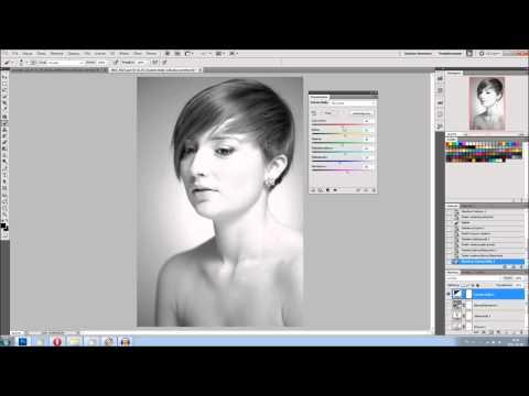 Warstwy dopasowania w Adobe Photoshop - poradnik wideo