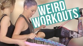 5 Weird & Trendy Workout Tools (Beauty Break) by Clevver Style