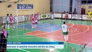 Bocaina e Lençóis Paulista estão na final da Copa Record