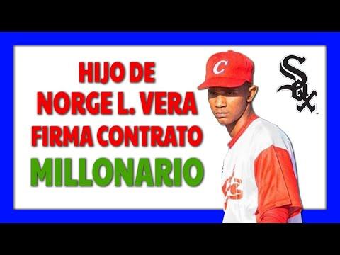 Pitcher santiaguero Norge Carlos Vera comienza su camino profesional