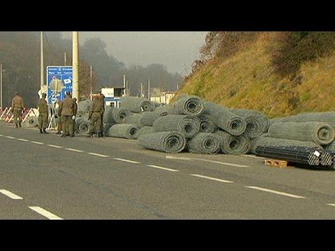 Φράχτης στα σύνορα Αυστρίας-Σλοβενίας