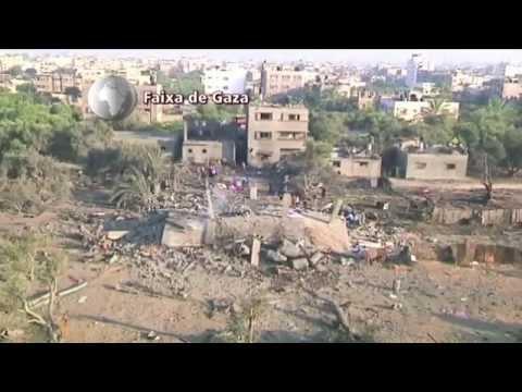 Israel intensifica bombardeios à Faixa de Gaza