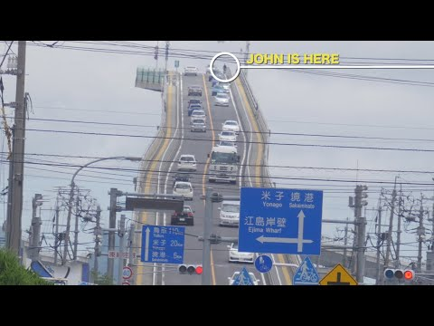 Yikes! Japan's most terrifying bridge!