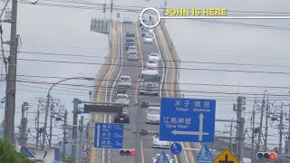 Sakaiminato Japan  city photo : Japan's Most Terrifying Bridge: Eshima Ohashi 日本最恐 江島大橋 ★ ONLY in JAPAN #33