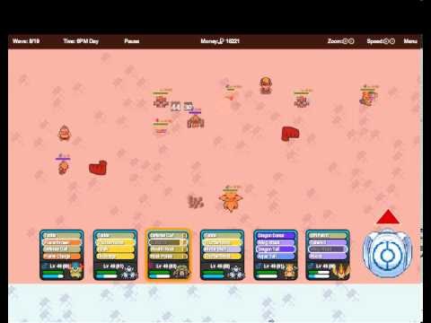 Pokemon tower defense 2 - Olivine gym
