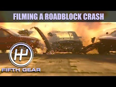 Filming a Roadblock Crash | Fifth Gear Classic