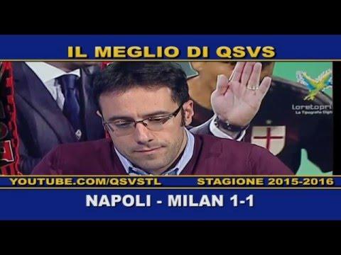 qsvs - i gol di napoli - milan 1 a 1