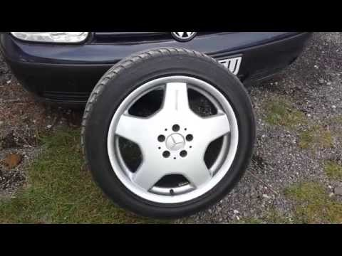 Mercedes Benz S classe W140 300TD - AMG WHEELS change to Serial stock