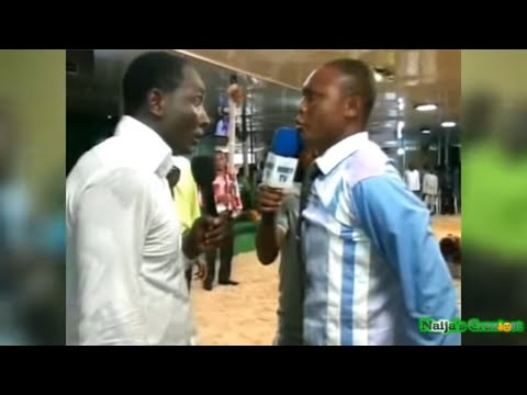 "Demon Pastor From ""Redeemed Christian Church"" Attacks Prophet Jeremiah Fufeyin During Deliverance"