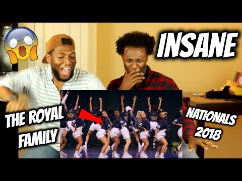 THE ROYAL FAMILY - Nationals 2018 (Guest Performance) WE WENT CRAZY! REACTION!!