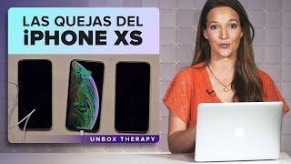 iPhone XS encara problemas de cámara y carga