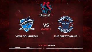 Vega Squadron против The Brestomans, Первая карта, Квалификация на Dota Summit 8