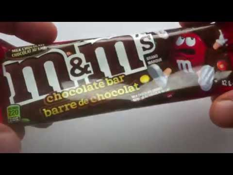 M&M's Chocolate Bar review