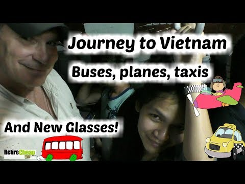 Retire Cheap in Vietnam - 01- Bangkok to Danang