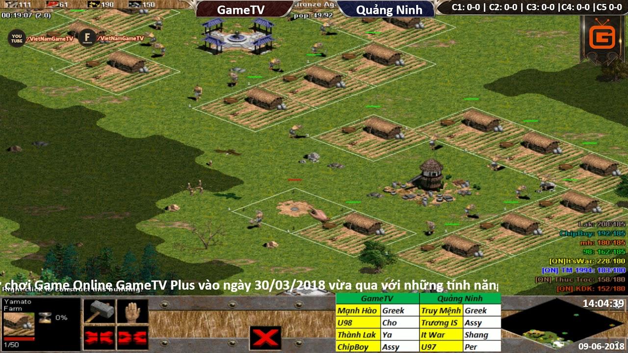4vs4 Random | GameTV vs Quảng Ninh | Ngày: 09-06-2018. BLV: Hải MariO