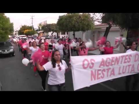 Caminhada do outubro rosa de Morada Nova 22 10 2013