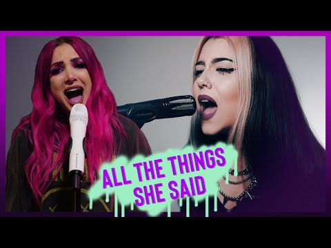 """T.a.t.u.  """"All The Things She Said"""" Cover by Violet Orlandi"""