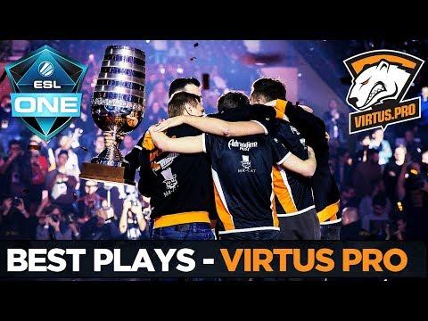ESL One Major Katowice - Best Plays - Virtus Pro - Dota 2
