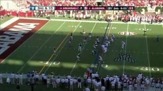 Dre Kirkpatrick vs Arkansas 2011