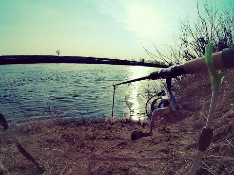 фидер весной на реке до разлива