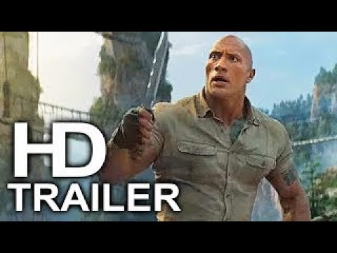 JUMANJI 3: THE NEXT LEVEL Official Trailer Movie in theater Christmas.