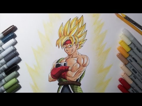 Drawing Bardock Super Saiyan | SSJ - Father of Goku