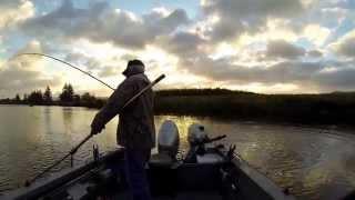 Fishing on the Nehalem River.