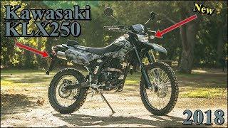8. Essential facts Kawasaki KLX250 2018 Reviews