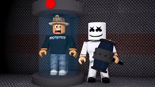 Marshmello Joins My Game Roblox Flee The Facility