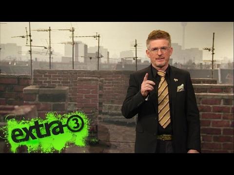 Fernsehempfang-Experte Heinz Strunk  | extra 3 | NDR