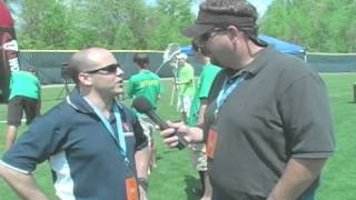 We talk to Joe Losurdo of Double Stixx Lacrosse as well as some of the young players on hand taking part in the clinics, combines, and twice an hour gear giveaways.