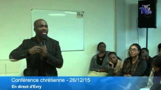 Evry France  City new picture : Présentation de la vision - Evry / France (Shora KUETU - 26/12/15)