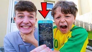 Video 7 Ways to PRANK Your Little Brother!! MP3, 3GP, MP4, WEBM, AVI, FLV Juni 2019