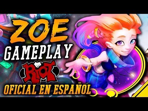 ZOE GAMEPLAY oficial EN ESPAÑOL | Noticias LoL