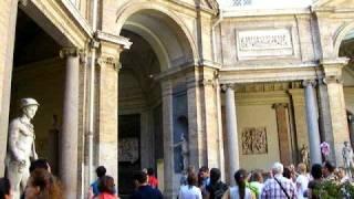 Музей античной скульптуры в Ватикане