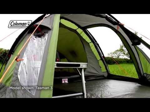 Coleman Tasman 4 tent 2017 Model & Coleman Tasman 4 tent 2017 Model | Tents | Camping Rocks ...