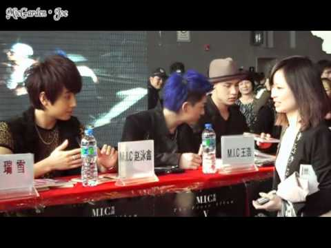 [120101] M.I.C first Comic Offprint Autograph Session @ Guangzhou Animation Fair (FanCam)