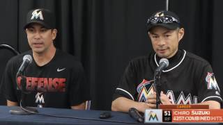 Miami Marlins - Ichiro Suzuki on all-time total hits milestone