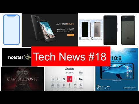 Tech News #18 LG Q6, Google Pixel New Leak, Oneplus 5 New Update, Skype Update, Sony XZ Compact