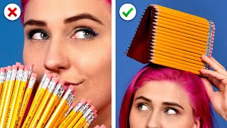 Video 11 Cool DIY School Supplies!  Back To School Hacks MP3, 3GP, MP4, WEBM, AVI, FLV September 2019