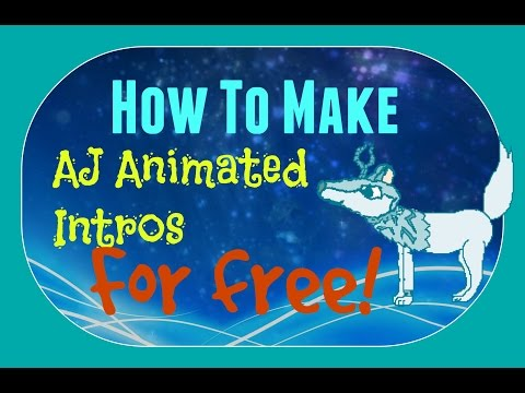 How to make animated intros for free! Step by step tutorial