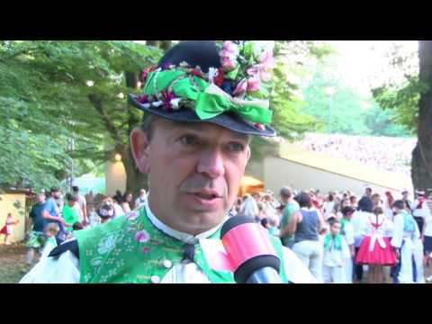 TVS: Strážnice - Mezinárodní folklórní festival