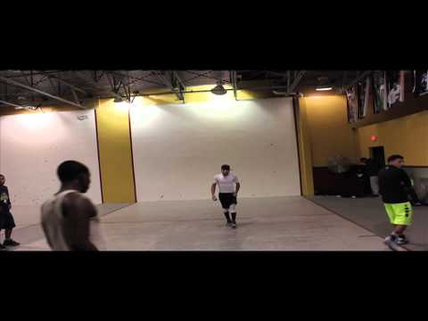 2014 Wall Ball Open - Angel and Earl vs Carlos and Bori