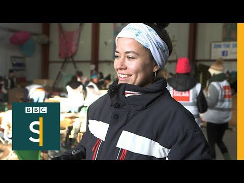 The amazing family making a Christmas trip to Calais - BBC Stories